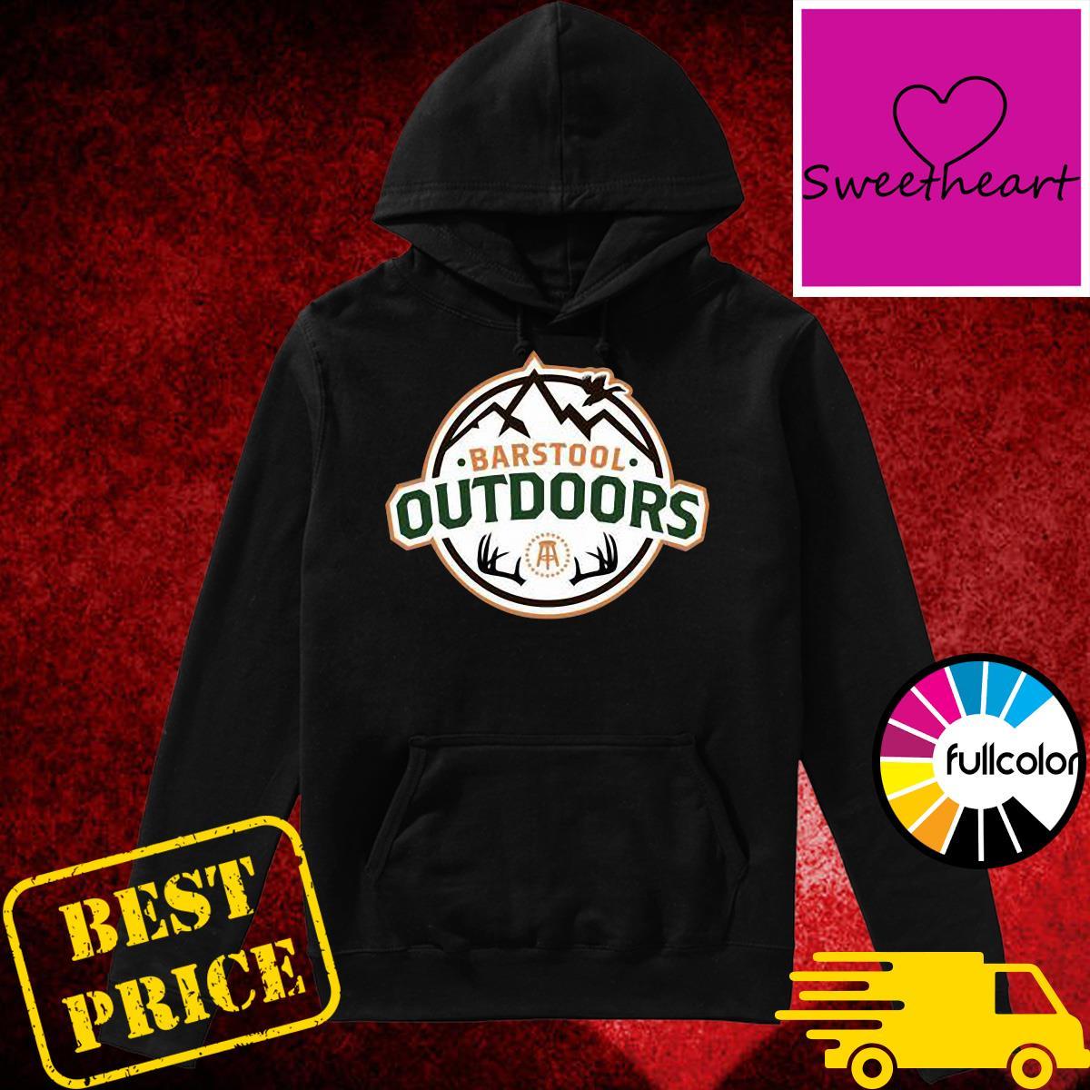 Barstool Outdoors Wilderness Ii Pocket Shirt Hoodie