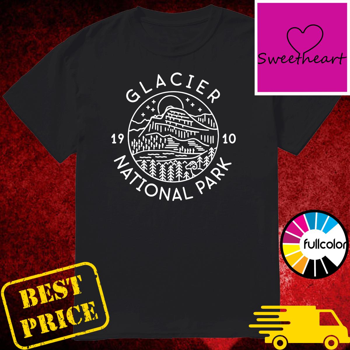 Official Glacier 1910 National Park Shirt