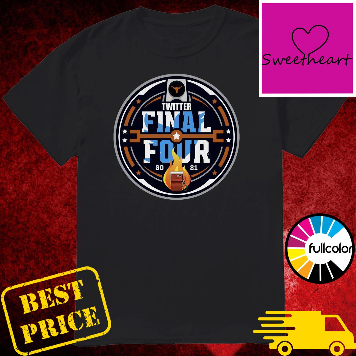 Official Twitter Final Four 2021 Basketball Shirt