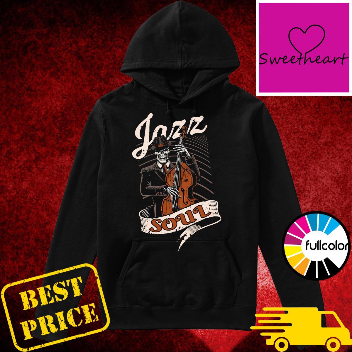 Skeleton Playing Guitar Jazz Soul Shirt Hoodie