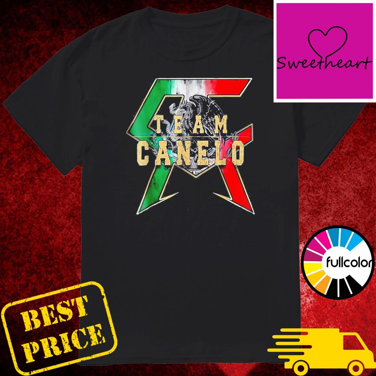 Canelos Saul Alvarez Boxer T-Shirt