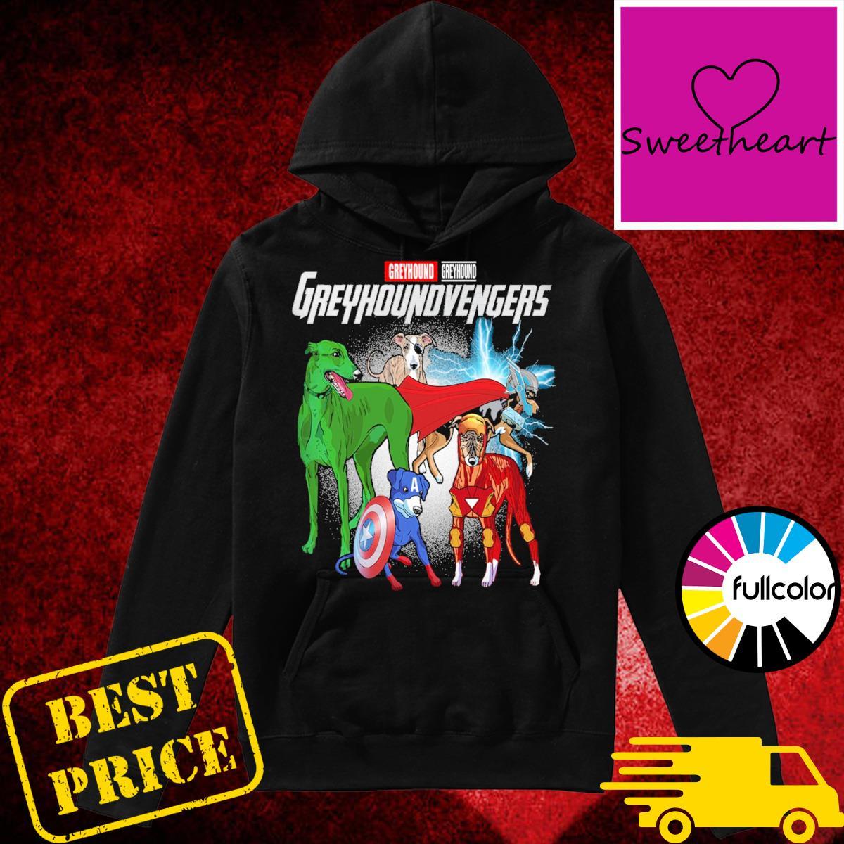 Official Marvel Greyhound Greuhoundvengers Shirt Hoodie